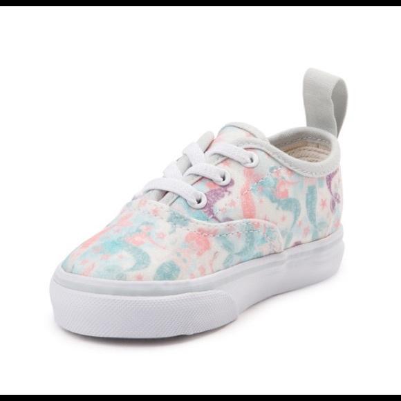 f45195bb97bec6 Vans Asher Mermaid sneakers kids 13. M 5b9516920945e04ab1ed170f